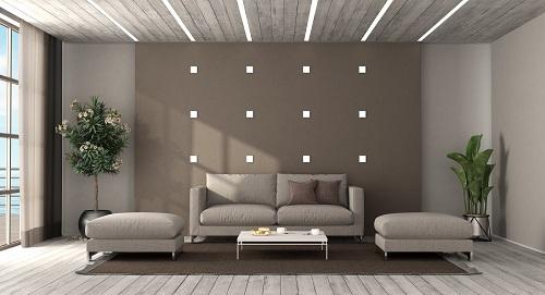un éclairage LED